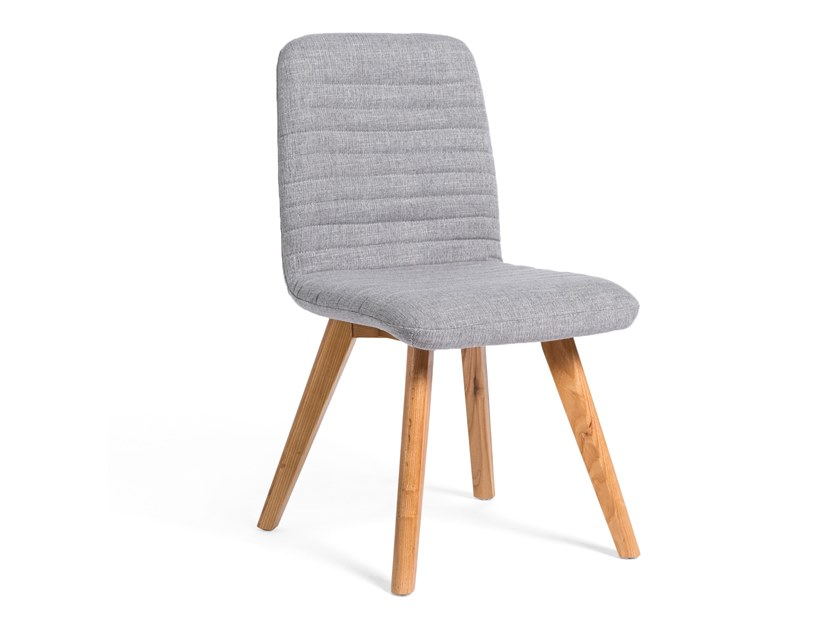 Upholstered fabric chair MANILA by meeloa