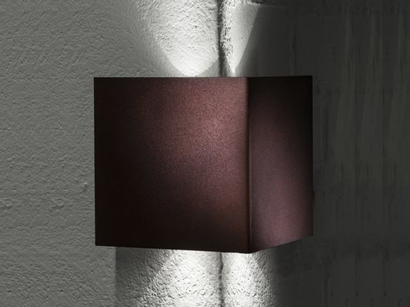 LED metal wall light MANINE 270-V | Direct-indirect light wall light by LUCIFERO'S