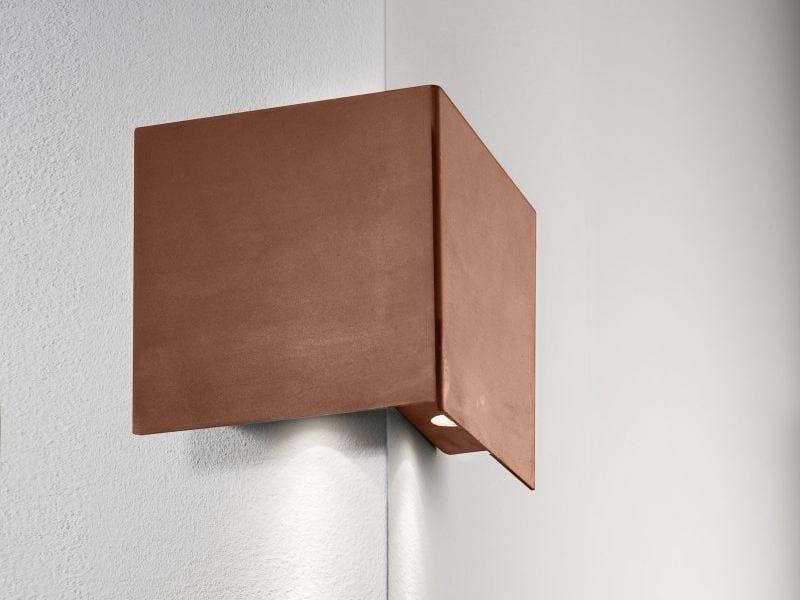 LED metal wall light MANINE 270-V | Direct light wall light by LUCIFERO'S