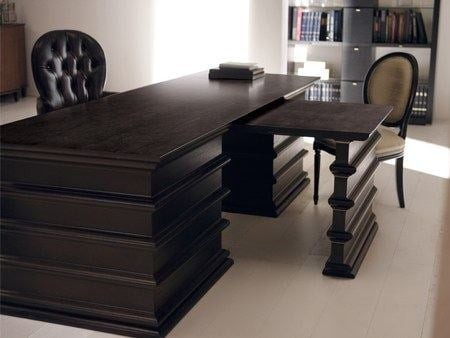 luxus hotel interieur paris angelo cappelini, rectangular wooden writing desk manon by opera contemporary design, Design ideen
