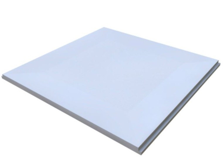 Plasterboard ceiling tiles MANTEGNA by Knauf Italia