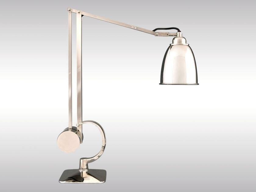 Adjustable desk lamp MANTODEA | Table lamp by Woka Lamps Vienna