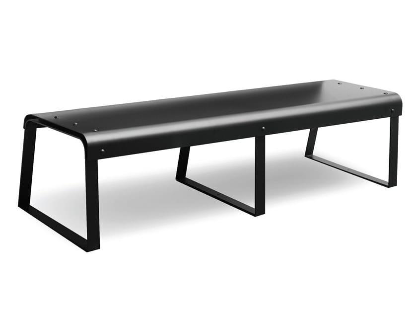 Plate bench MANU 24 by Manganèse Éditions