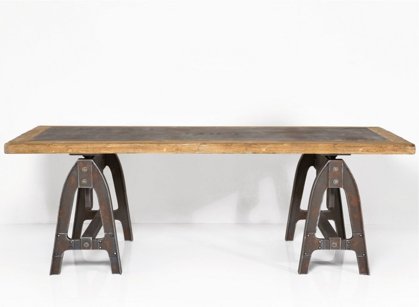 Rectangular wooden table MANUFAKTUR | Table by KARE-DESIGN