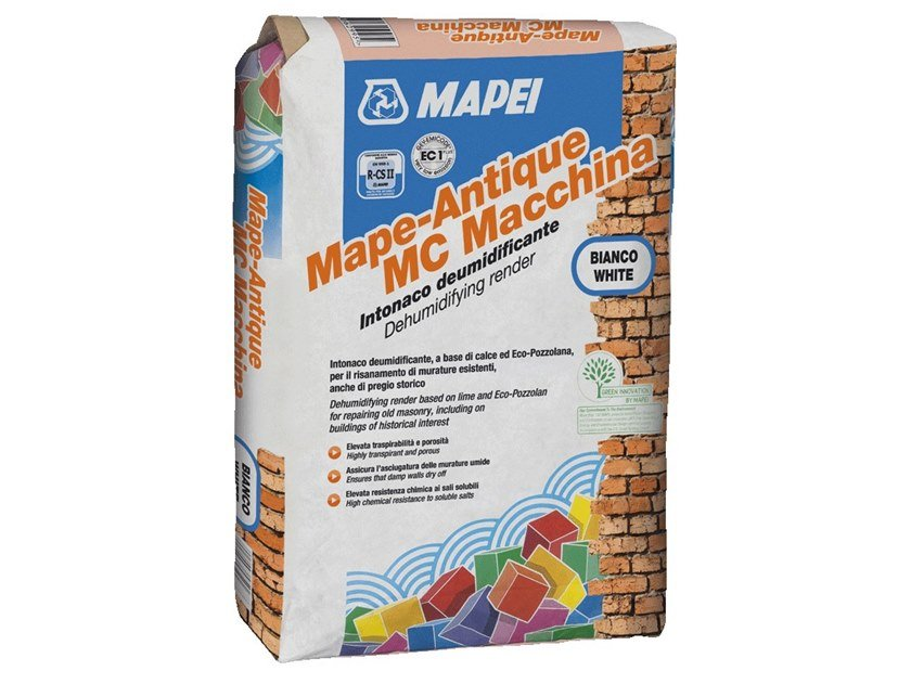 Mortar for masonry MAPE-ANTIQUE MC MACCHINA by MAPEI