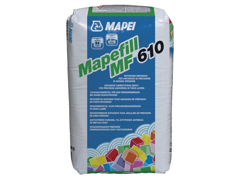 Renovation mortar and grout for renovation MAPEFILL MF 610 by MAPEI