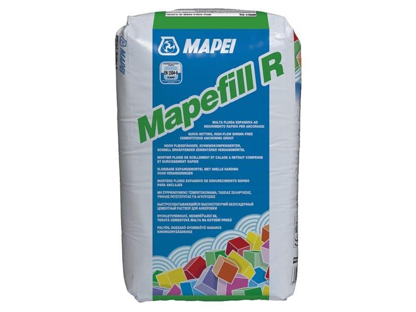 Malta fluida espansiva ad indurimento rapido per ancoraggi MAPEFILL R by MAPEI