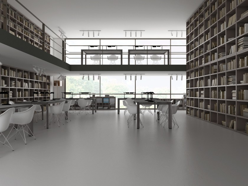 Resin continuous flooring MAPEFLOOR COMFORT SYSTEM by MAPEI