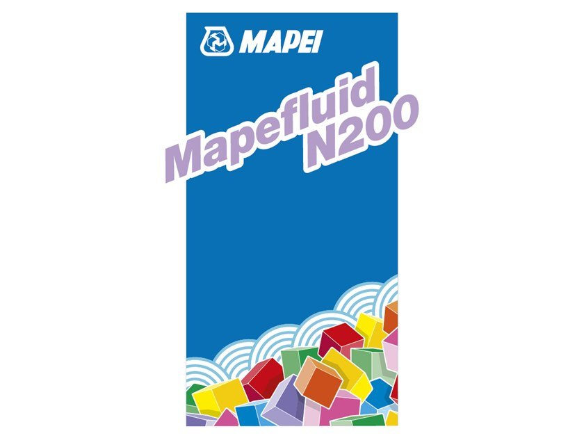 Superfluidificante per calcestruzzi MAPEFLUID N200 by MAPEI