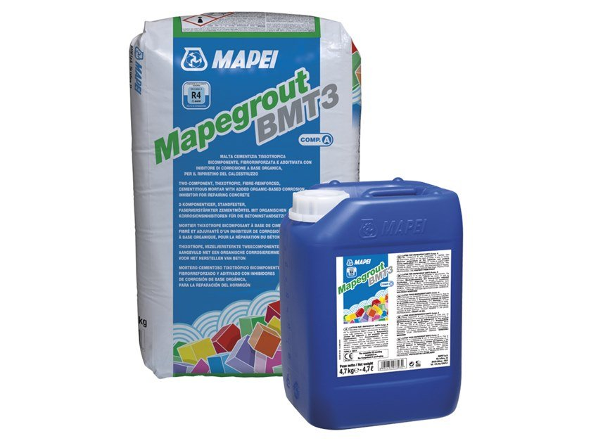 Thixotropic mortar MAPEGROUT BMT3 by MAPEI