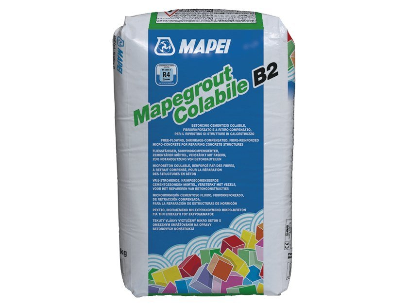Renovation mortar and grout for renovation MAPEGROUT COLABILE B2 by MAPEI