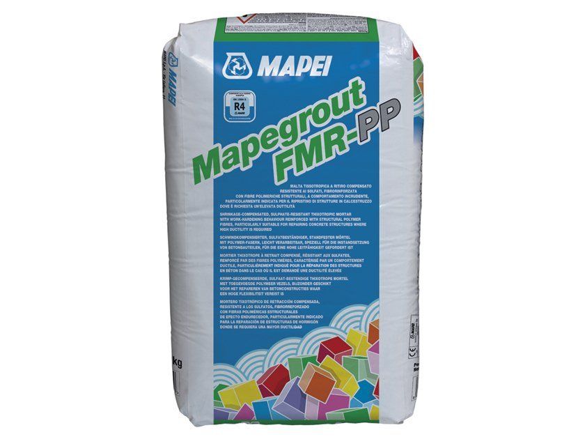 Thixotropic mortar MAPEGROUT FMR-PP by MAPEI