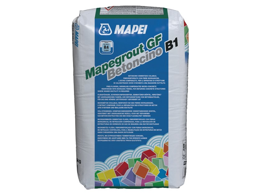 Renovation mortar and grout for renovation MAPEGROUT GF BETONCINO B1 by MAPEI