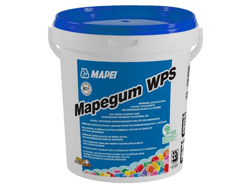 Membrana liquida per impermeabilizzazioni mapegum wps mapei for Guaina liquida mapei