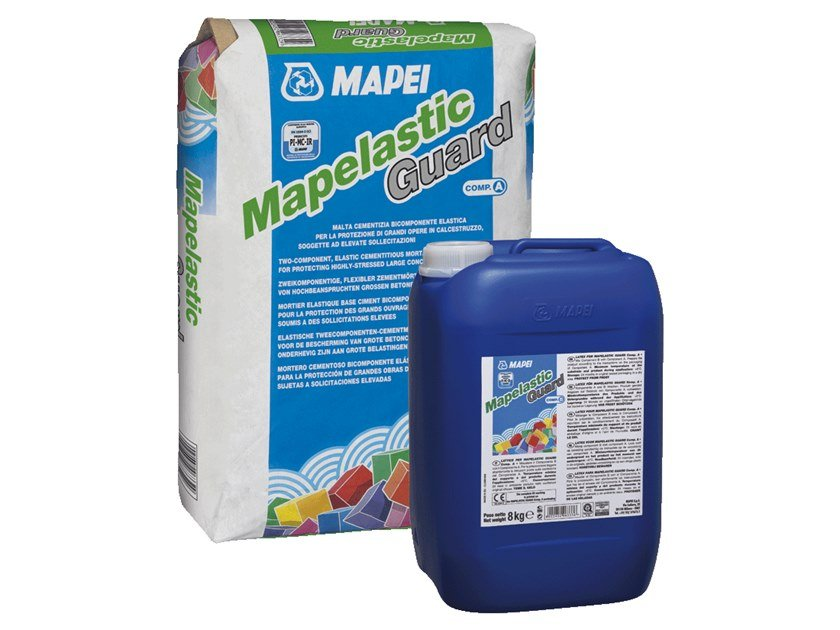 Surface protector for concrete MAPELASTIC GUARD by MAPEI