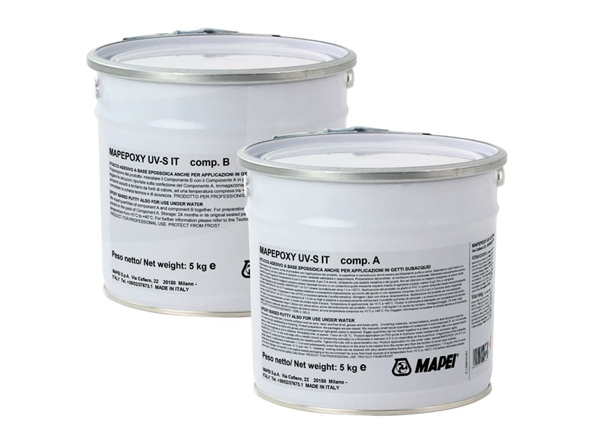 Gypsum and plaster MAPEPOXY UV-S IT by MAPEI