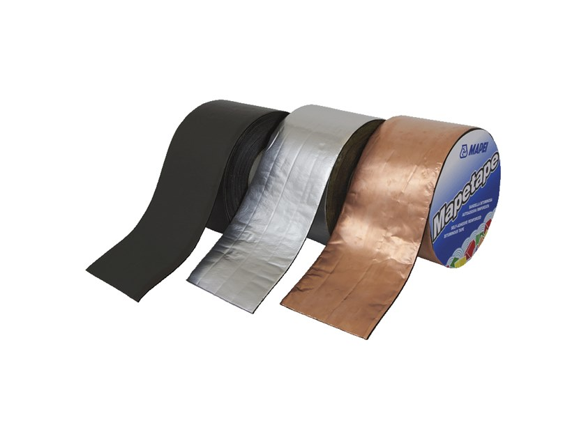Adhesive strip for joint MAPETAPE by MAPEI