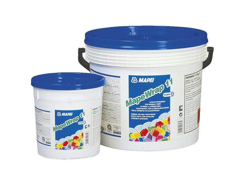 Skim coat and cementitious finish for plaster MAPEWRAP 11 by MAPEI