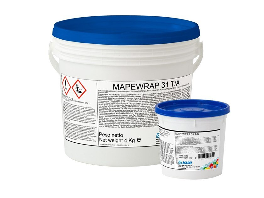 Structural adhesive MAPEWRAP 31 T by MAPEI