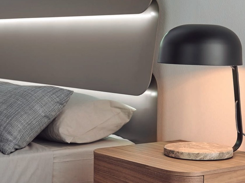 Metal bedside lamp with fixed arm MARBRE by Aromas del Campo