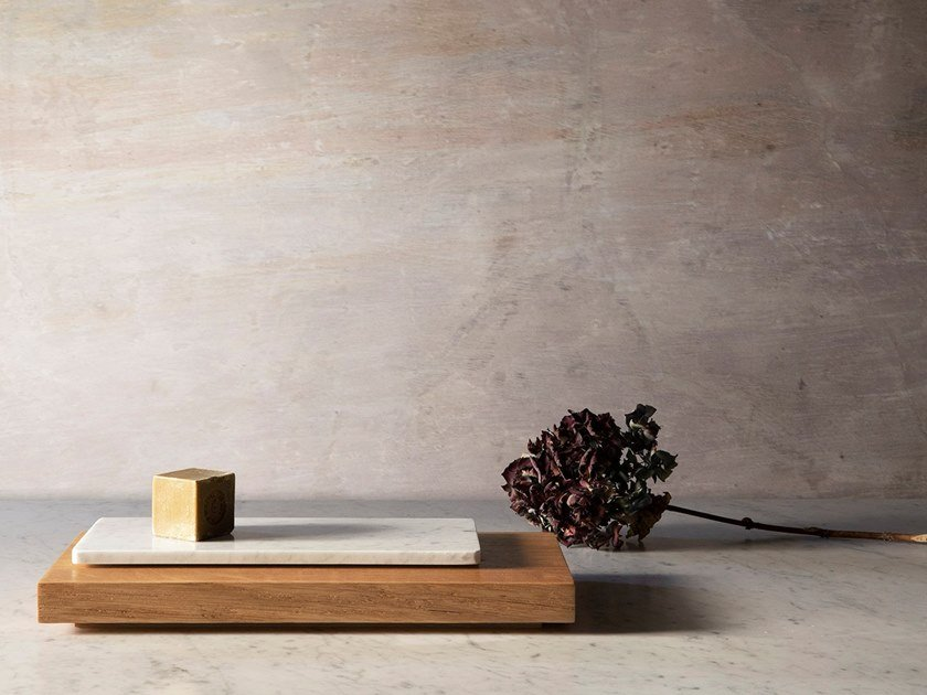 Rectangular marble tray MARBRE   Tray/Chopping board by Objets Architecturaux