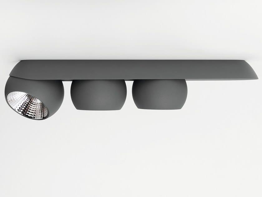 Modular Nomad Lamp : Led ceiling spotlight marbul by modular lighting instruments