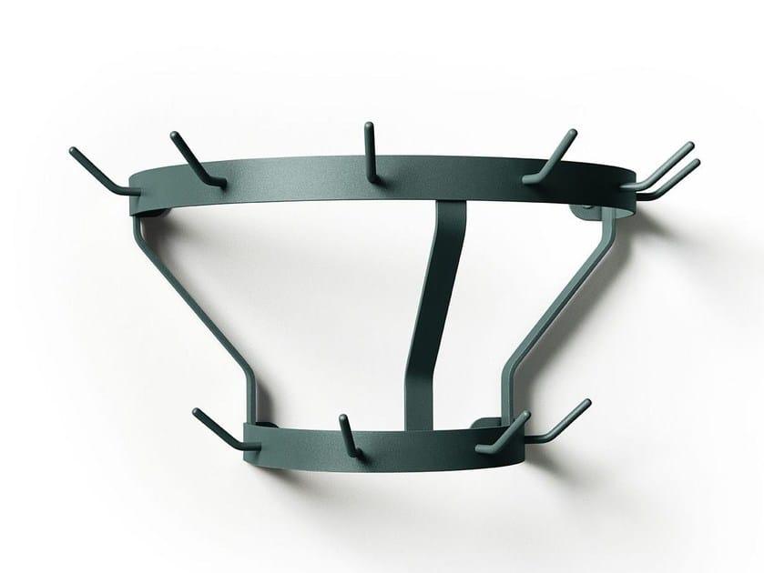 Wall-mounted metal coat rack MARCEL | Wall-mounted coat rack by Massproductions
