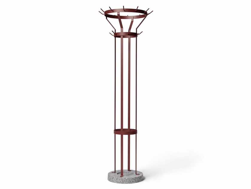 Contemporary style metal coat stand MARCEL | Coat stand by Massproductions