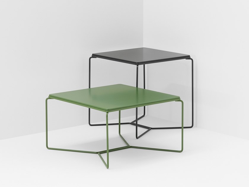 Square MDF coffee table MARCEL | MDF coffee table by BILLIANI