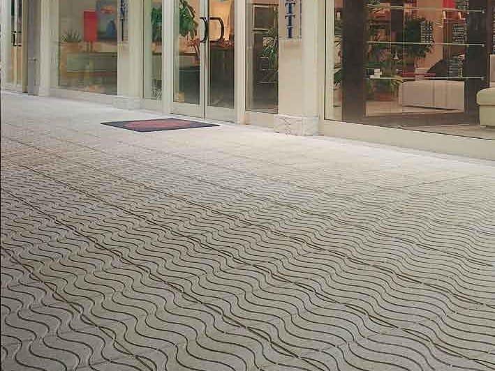 Pavimento per esterni carrabile in graniglia marea by donzella