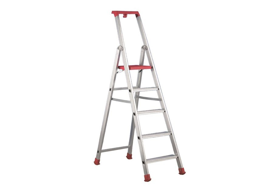 Aluminium heavy duty ladder MAREA by SVELT
