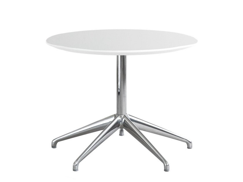 HPL side table with 4-star base MAREA | Coffee table with 4-star base by STUA
