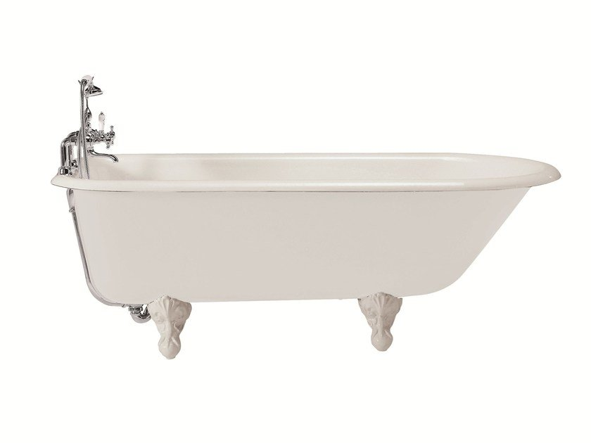 Classic style bathtub on legs MARGARET by GENTRY HOME