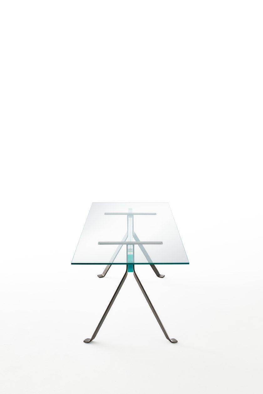 Tavolo Cristal Mari Italia Cristallo Rettangolare Glas In vmwN8n0O