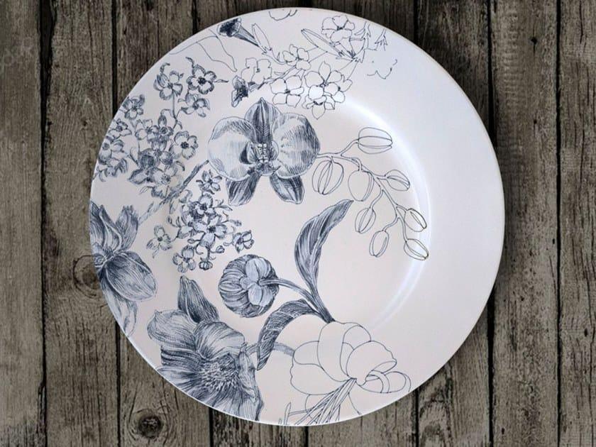 "Porcelain dessert plate MARIE ANTONIETTE 2020 DESSERT PLATE ""A"" by Francesca Colombo"