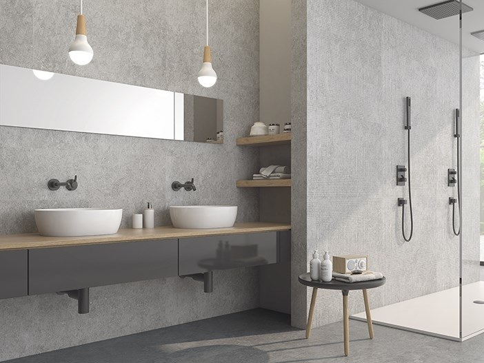 White-paste wall tiles with stone effect MARIELLA | White-paste wall tiles by ITT Ceramic