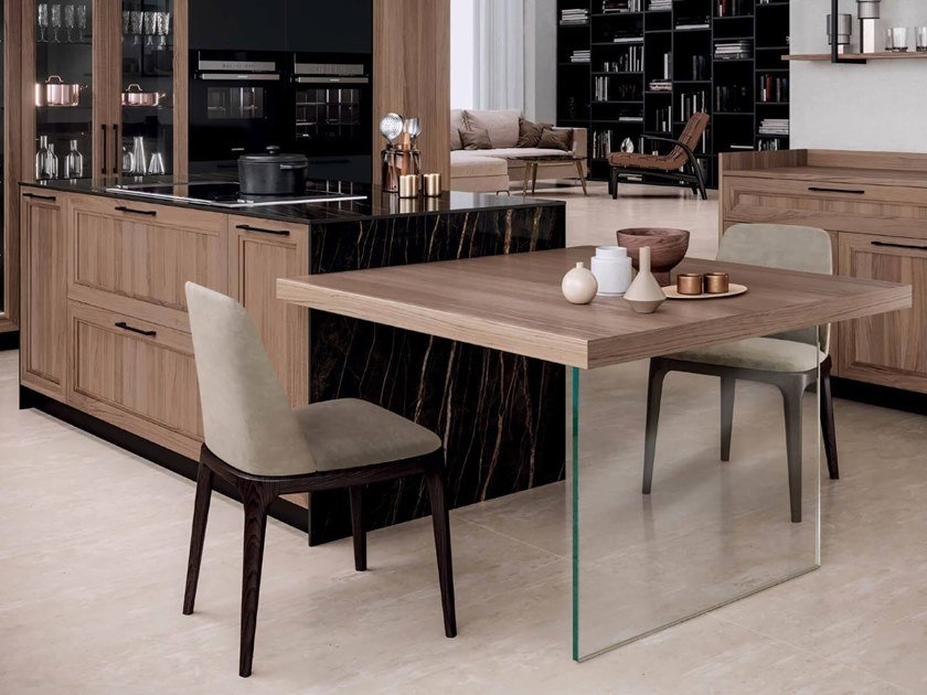 Wooden kitchen with island MARILYN 45.2 by Composit