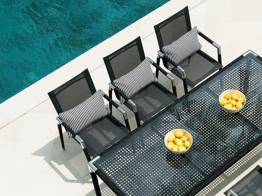 Garden chair with armrests MARINA   Garden chair by INDIAN OCEAN. MARINA   Garden chair By INDIAN OCEAN