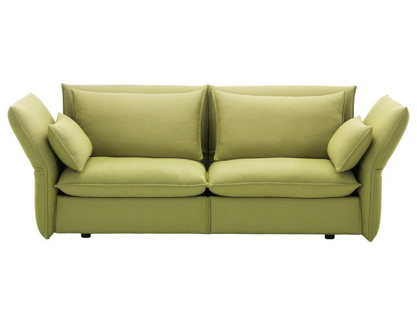 2 seater sofa with removable cover MARIPOSA 2 1/2 SEATER by Vitra