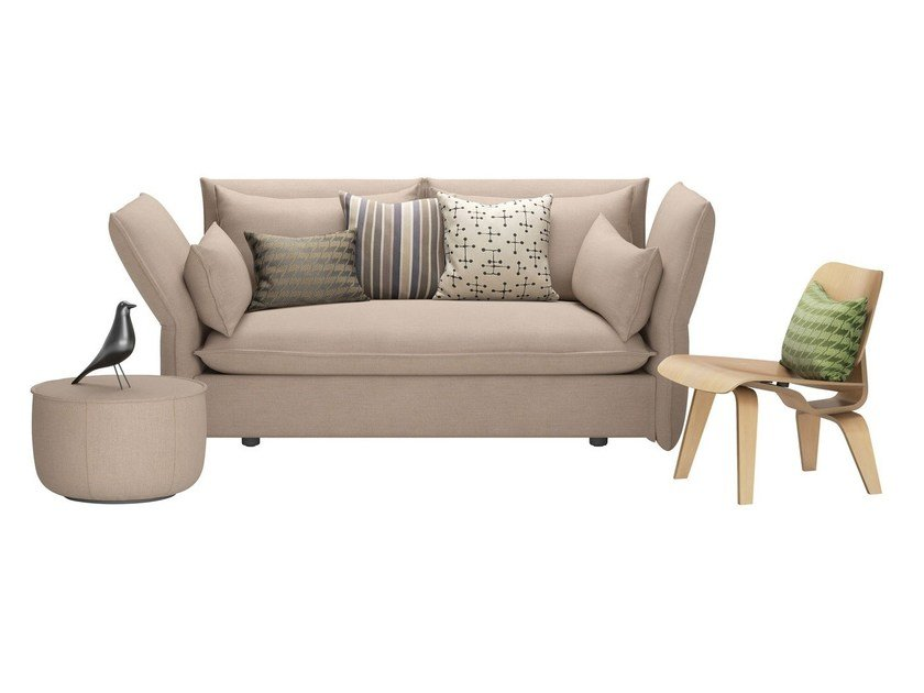 2 Seater Sofa With Removable Cover Mariposa By Vitra