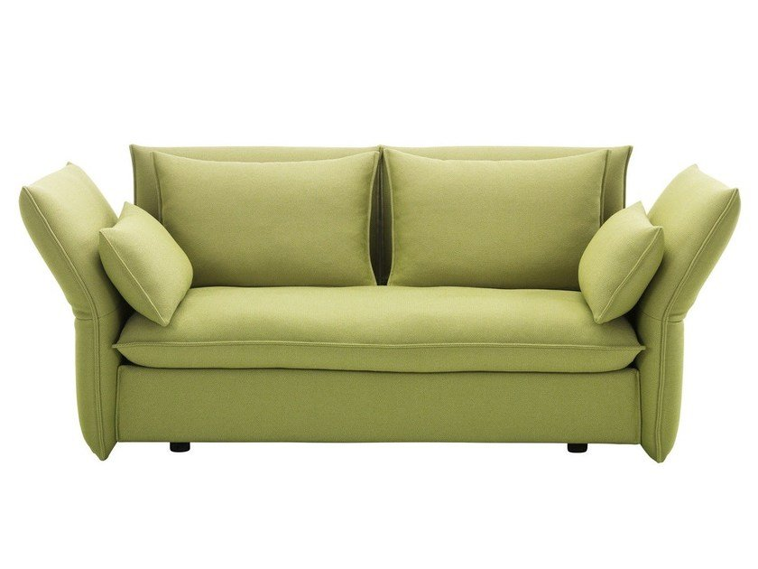 2 seater sofa with removable cover MARIPOSA 2-SEATER by Vitra