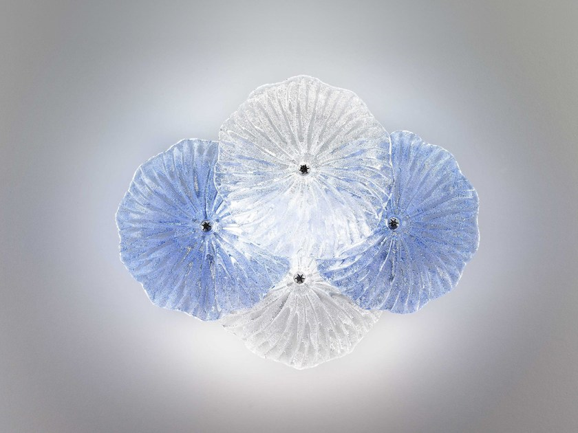 Glass ceiling lamp MARIPOSA | Ceiling lamp by Zafferano