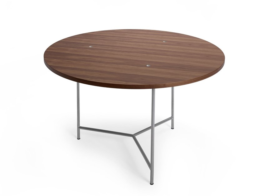 Round contract table MARKELIUS 01   Round table by Offecct