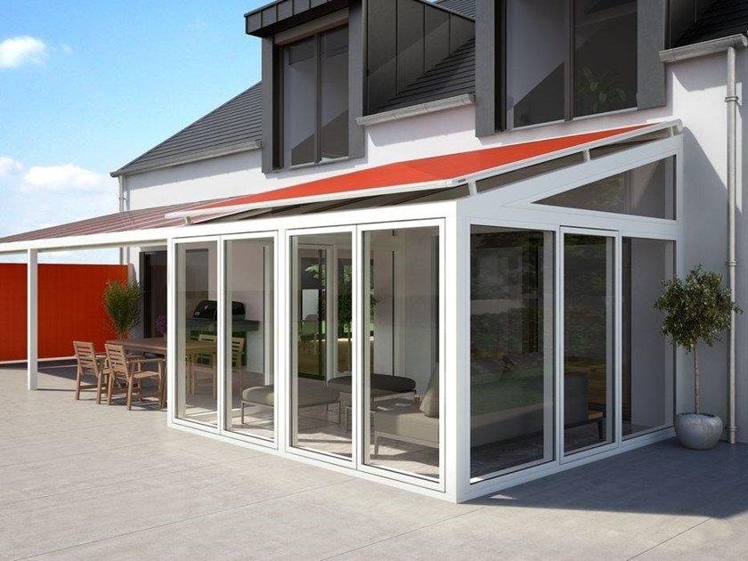 Sliding Folding arm awning MARKILUX 770 / 870 by markilux