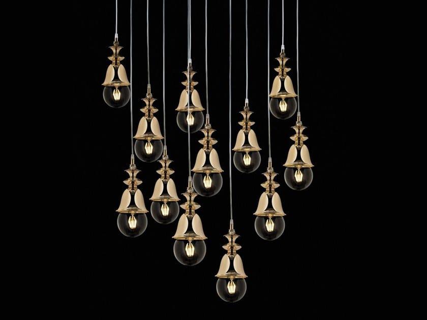 Lampada a sospensione a LED a luce diretta MARLENE | Lampada a sospensione by Aiardini