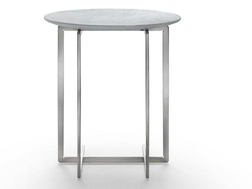 Round marble side table MARMADUKE | Coffee table by Mood by Flexform