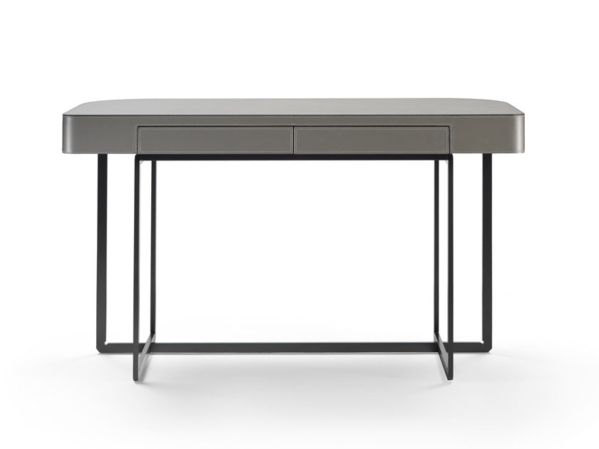 Rectangular writing desk with drawers MARMADUKE | Writing desk by Mood by Flexform