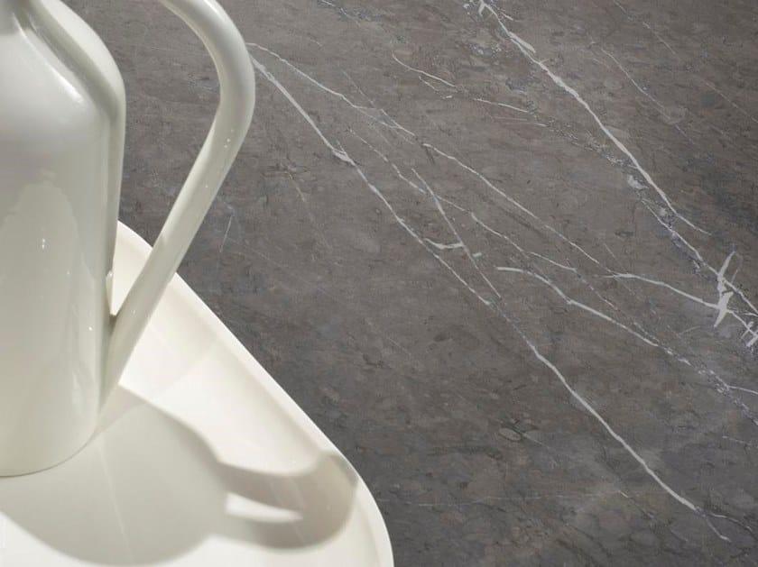 Pavimento/rivestimento in gres porcellanato effetto marmo MARMI CLASSICI - GREY MARBLE by ARIOSTEA
