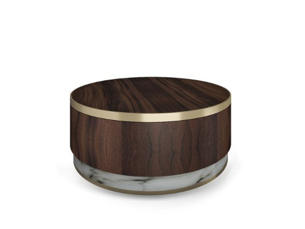Round coffee table MARMO | Coffee table by Duquesa & Malvada