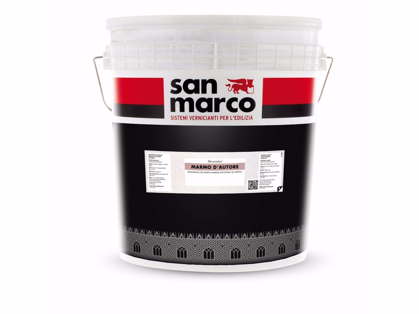 Breathable decorative painting finish MARMO D'AUTORE by San Marco